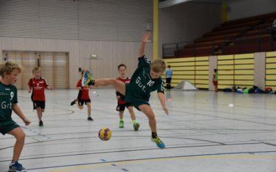 Eindrücke des Handballspieltag der F-Jugend in Speyer